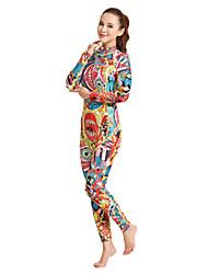 cheap -HISEA® Women's Full Wetsuit 3mm SCR Neoprene Diving Suit Full Body Back Zipper / Fashion / Classic Spring / Summer