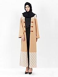 cheap -Fashion Kaftan Dress Abaya Arabian Dress Women's Festival / Holiday Halloween Costumes Pink Lace