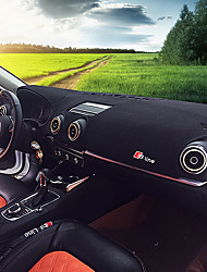 Недорогие -автомобильный Маска для приборной панели Коврики на приборную панель Назначение Audi Все года A5