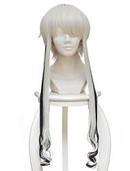baratos -Perucas de Cosplay Terra dos lustrosos Ghost Quartz Anime Perucas de Cosplay 35cm CM Fibra Resistente ao Calor Homens Mulheres