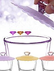 Недорогие -алмаз ручка кремния утечка доказательство прекрасный кубок крышку (случайный цвет)