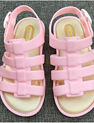 cheap -Girls' Shoes PVC Summer Comfort / Jelly Shoes Sandals for Orange / Fuchsia / Pink
