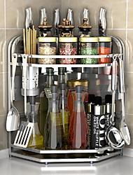 abordables -Acier inoxydable Facile à Utiliser Creative Kitchen Gadget Porte-vaisselle 1pc Organisation de cuisine