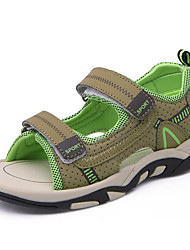 cheap -Boys' Shoes Synthetic Microfiber PU Spring / Summer Comfort Sandals for Dark Blue / Gray / Army Green