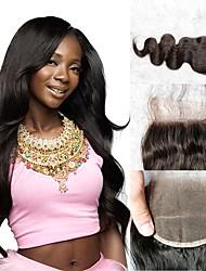 Недорогие -Классика 4x4 Закрытие Натуральные волосы Высокое качество Повседневные