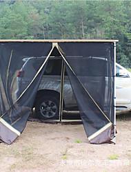 baratos -Deerke 4 pessoas Dupla Camada Barraca de acampamento Ao ar livre Barraca de Acampamento Familiar Á Prova-de-Chuva para Campismo /