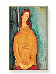 baratos -Pintura de Óleo Arte de Parede,PVC Material com frame For Decoração para casa Arte Emoldurada Sala de Estar