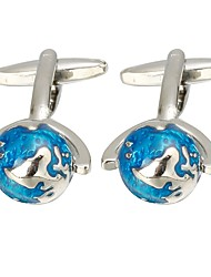cheap -Blue Cufflinks Copper Globe Basic / Fashion Men's Costume Jewelry For Formal / Office & Career