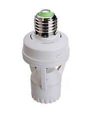 baratos -1pc pir sensor de movimento infravermelho e27 levou lâmpada base suporte luz controle interruptor conversor