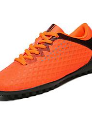 Недорогие -мужская обувь pu весна осень комфорт спортивная обувь футбольная обувь для наружного синий зеленый оранжевый