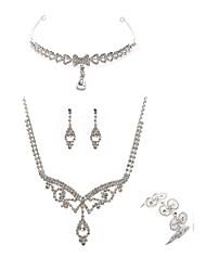 economico -Per donna I monili nuziali Gioielli per fronte Strass Diamanti d'imitazione Lega Di forma geometrica Lineare Di tendenza Europeo