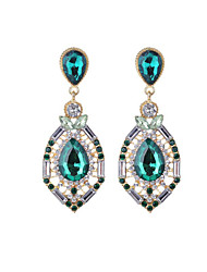 cheap -Women's Drop Earrings Crystal Rhinestone Casual Fashion Crystal Imitation Diamond Alloy Drop Jewelry Daily Going out