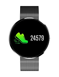 cheap -Smartwatch iOS / Android Heart Rate Monitor / Blood Pressure Measurement / Information / Camera Control / APP Control Pedometer / Call Reminder / Sleep Tracker / Sedentary Reminder / Find My Device