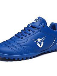 abordables -Fille Chaussures PU de microfibre synthétique Printemps / Automne Confort Chaussures d'Athlétisme Football pour Jaune / Vert clair / Bleu