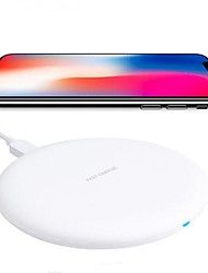 cheap -10w Fast Wireless Charger for IPhone X 8 Samsung Galaxy S9 Plus S9 S8 Plus Note 8 Note 5 Or Built-in Qi Receiver Smart Phone