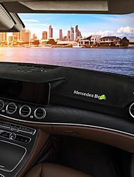 Недорогие -автомобильный Маска для приборной панели Коврики на приборную панель Назначение Mercedes-Benz Все года Класс E