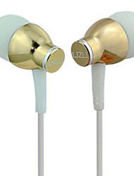 cheap -LIZU i-KL330 In Ear Wired Headphones Dynamic Copper Mobile Phone Earphone with Microphone Headset