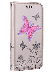 abordables -Coque Pour Huawei P9 Lite Huawei Huawei P8 Lite P8 Lite (2017) P10 Lite Porte Carte Portefeuille Avec Support Clapet Relief Coque
