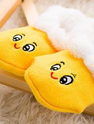 cheap -Girls' Print Winter Hosiery,Polyester Stretchy Cute Yellow Blushing Pink