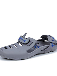 cheap -Boys' Shoes PU Summer Sandals Walking Shoes for Casual Black Gray Blue