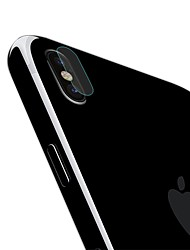Недорогие -AppleScreen ProtectoriPhone X HD Защитная пленка для задней панели 1 ед. Закаленное стекло