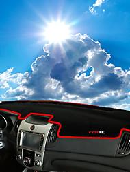 Недорогие -автомобильный Маска для приборной панели Коврики на приборную панель Назначение Kia Все года Forte