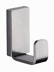 cheap -Modern Robe Hook Stainless Steel Non Skid Solid Color Rectangle N/A