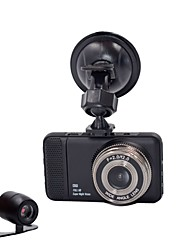 cheap -Dual Camera DVR Full HD 1080P 170 Degrees New 3.0 Car DVR and Cmera for Recording Driving Car Detector