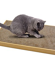 cheap -Catnip Beds Paper Simple Pet Friendly Scratch Pad Paraben Free Formaldehyde Free Card Paper Cardboard Cardboard Paper For Cat Cat Toy