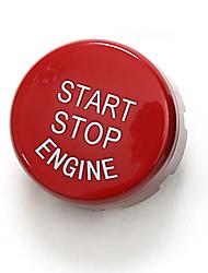 Недорогие -автомобильный Крышка переключателя зажигания Всё для оформления интерьера авто Назначение BMW Все года 5-й серии