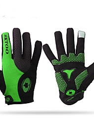 cheap -Sports Gloves Keep Warm Wearable Stretchy Full-finger Gloves Leather Nylon Lycra Cycling / Bike Unisex