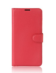 cheap -Case For Xiaomi Card Holder Wallet with Stand Flip Full Body Cases Solid Color Hard PU Leather for Xiaomi A1