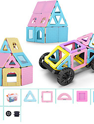 cheap -Magnetic Blocks Building Blocks 110pcs Car Transformable Classic & Timeless Chic & Modern Architecture Vehicles Toy Girls' Boys' Toy Gift