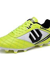 abordables -Homme Chaussures Gomme Printemps / Automne Confort Chaussures d'Athlétisme Football Vert Véronèse / Bleu / Rose