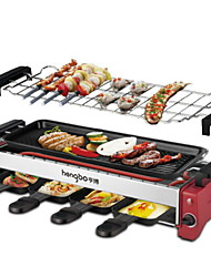 cheap -Kitchen Aluminum-magnesium alloy 220V Electric  Barbecue Grill Thermal Cookers