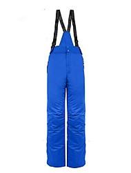 abordables -Hombre Pantalones de Esquí Templado, Impermeable, Resistente al Viento Camping y senderismo / Esquí / Ejercicio al Aire Libre Poliéster