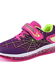 cheap -Girls' Shoes Breathable Mesh Spring Fall Light Up Shoes Athletic Shoes for Casual Party & Evening Royal Blue Light Green Fuchsia Orange