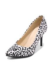 preiswerte -Damen Schuhe Vlies Frühling Herbst Pumps High Heels Stöckelabsatz Spitze Zehe für Hochzeit Party & Festivität Weiß Gelb Rot