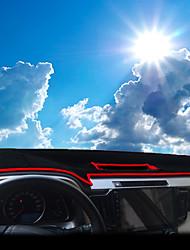 abordables -Automobile Matrice de tableau de bord Tapis Intérieur de Voiture Pour Toyota 2014 2015 2016 2017 RAV4