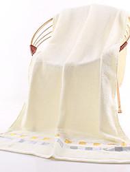 economico -Stile fresco Telo da bagno, Tinta unita Qualità superiore Puro cotone Semplice in cotone al 100% Asciugamano