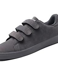 abordables -Homme Chaussures Cuir Nubuck Printemps / Automne Confort Chaussures d'Athlétisme Marche Noir / Gris / Kaki