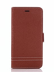 cheap -Case For Huawei Honor 9 Honor 8 Card Holder Wallet with Stand Flip Full Body Cases Solid Color Hard PU Leather for Honor 9 Honor 8 Honor