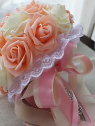 preiswerte -Hochzeitsblumen Einzigartiges Hochzeits-Dekor Hochzeit Abiball ca.25cm 0-10 cm