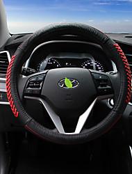 abordables -Couvertures de volant automobile (cuir) pour hyundai 2015 new tucson