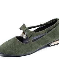 economico -Per donna Scarpe Vernice Primavera Cinturino Tacchi Footing A stiletto Appuntite Traforato per Casual Nero Rosso Verde