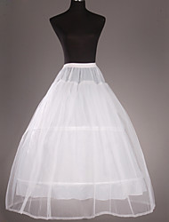 cheap -Wedding Special Occasion Slips Tulle Tea-Length Ball Gown Slip 53 Buckle Gore