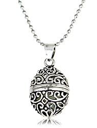 cheap -Men's Women's Geometric Ball Shape Classic Vintage European Pendant Necklace , Luminous Stone Alloy Pendant Necklace Gift Date