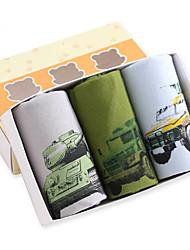 cheap -Boys' Painting All Seasons Underwear, Cotton Army Green