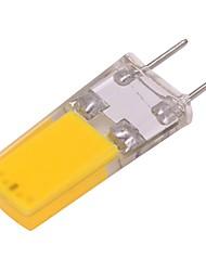 preiswerte -1pc 3W 260lm LED Doppel-Pin Leuchten 1 LED-Perlen COB LED-Lampe Warmes Weiß 220-240V