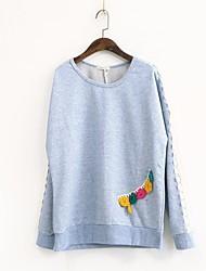 preiswerte -Damen Langarm Pullover-Geometrisch